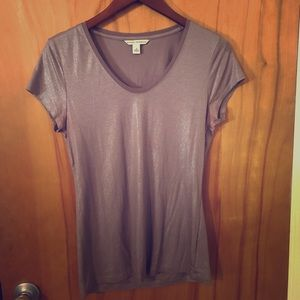 Shimmery fitted Tee